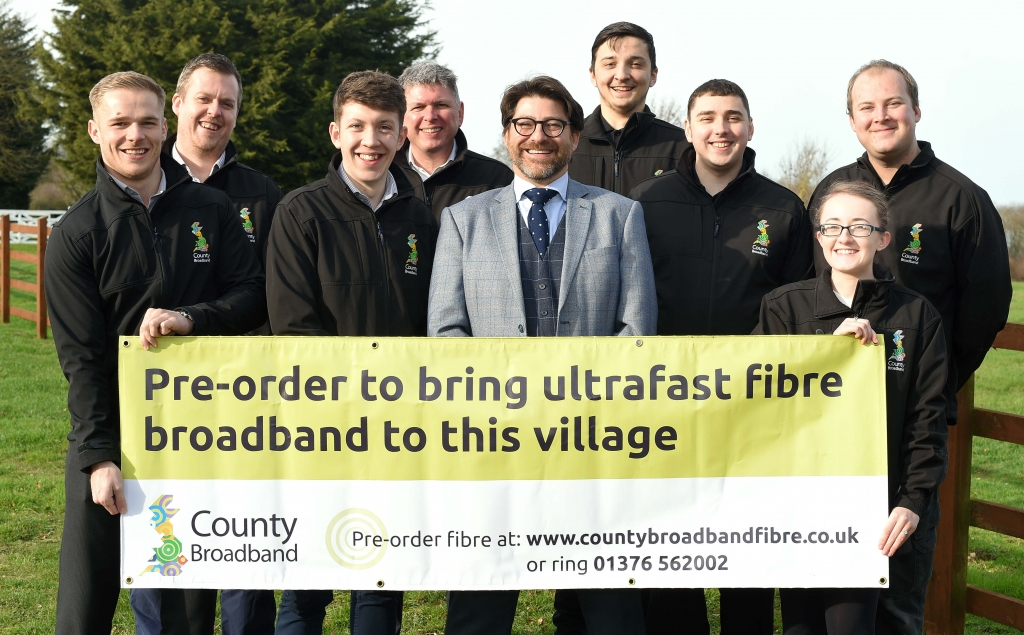 County Broadband group