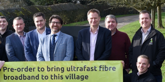 Schools and village halls offered free access to full fibre broadband