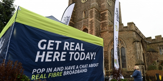 County Broadband selects FND for REAL FIBRE rollout