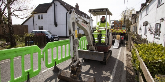Huge broadband boost for rural Suffolk as thousands added to next-generation full-fibre rollout