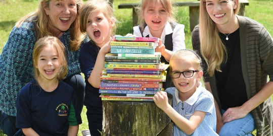 Book donation at Mulbarton Primary School marks final chapter of term