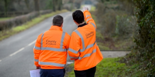 Getting Connected | County Broadband